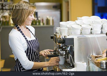 Cafe, Coffee Making, Barista