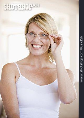 Woman, Glasses