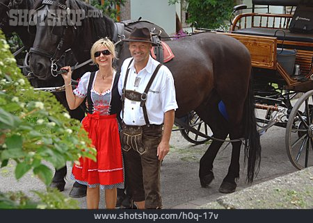 Couple, Bavarian
