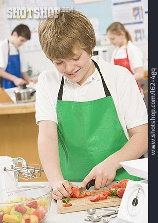 School Children, Cutting, Nutrition Science