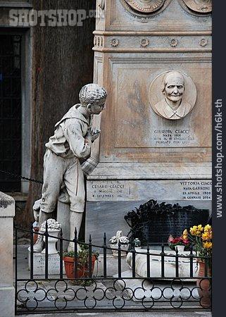Grave, Rome, Campo Di Verano
