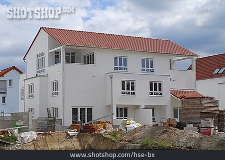 House, Building Construction, New Building