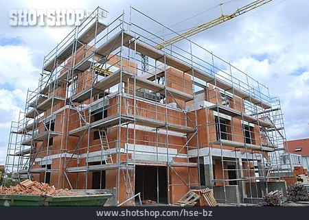 Building Construction, Construction Site, Carcass