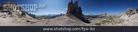 Mountain Panorama, Three Peaks