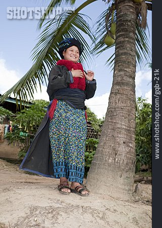 Young Woman, Traditional Clothing