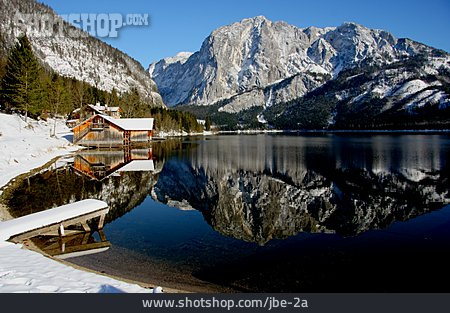 Mountain Lake, Altausseer Lake, Trisselwand