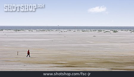 Beach Walking, Kniepsand