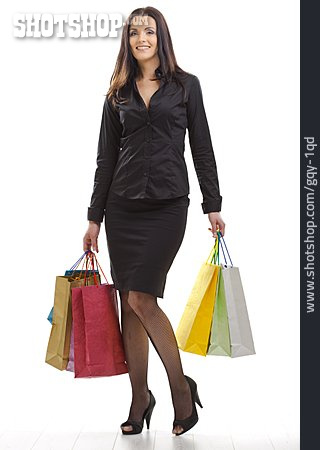 Young Woman, Purchase & Shopping