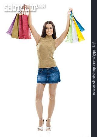 Young Woman, Purchase & Shopping, Shopping Bag
