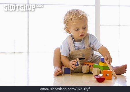 Toddler, Playing, Toy