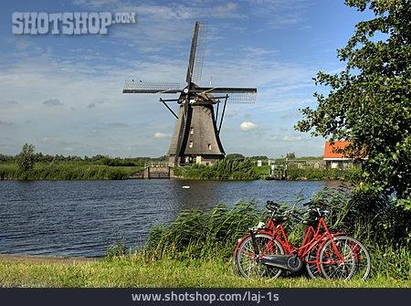 Windmill, Bicycle Tour, Kinderdijk