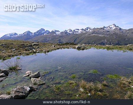 Mountain Range, European Alps, Mountain