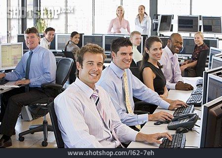 Office Assistant, Staff, Open Plan Office