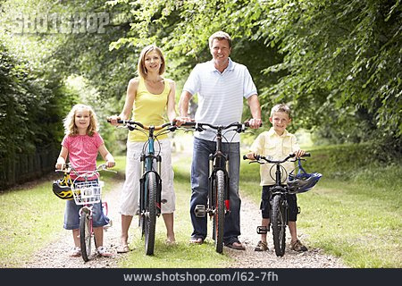 Family, Cycling, Bicycle Tour, Family Outing