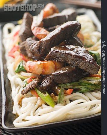 Pasta Dish, Meat Dish, Japanese Cuisine