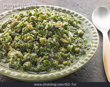Italian Cuisine, Herb Sauce, Salsa Verde