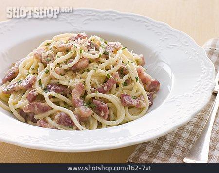 Pasta Dish, Dish, Spaghetti Carbonara