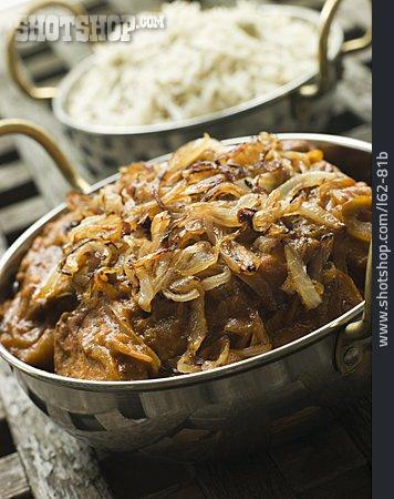 Indian Cuisine, Meat Dish, Dopiaza