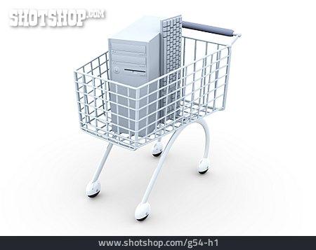 Purchase & Shopping, Computer, Shopping Cart