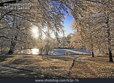 Winter, Winter Landscape, Idyllically