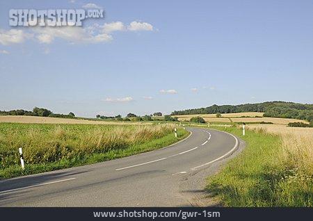 Street, Curve, Road
