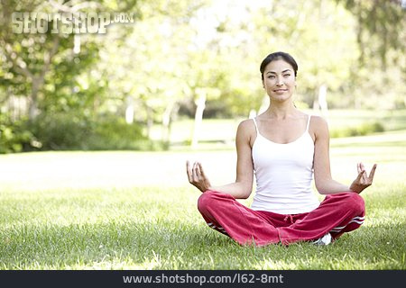 Young Woman, Yoga, Yoga Exercises