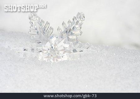 Winter, Ice Crystal, Ice Crystal