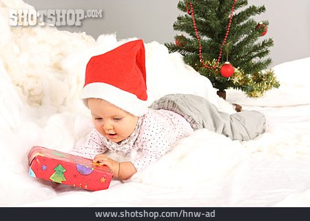 Baby, Christmas, Christmas Present