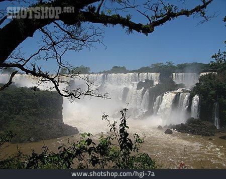 Waterfall, Iguazu Falls