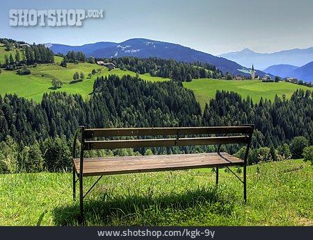 Relaxation & Recreation, European Alps, Bench, Karawanken
