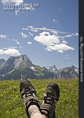 Resting, Relaxation & Recreation, Rest, Hiking Boots