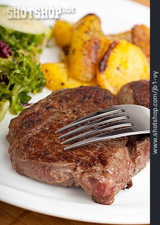 Steak, Meat Dish