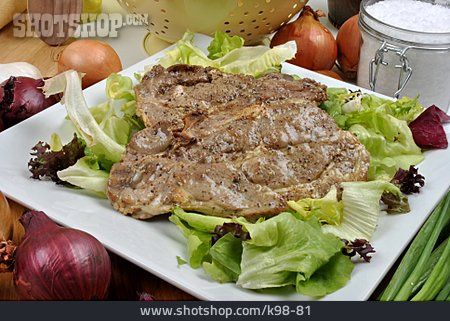 Grilled Meat, Meat Dish