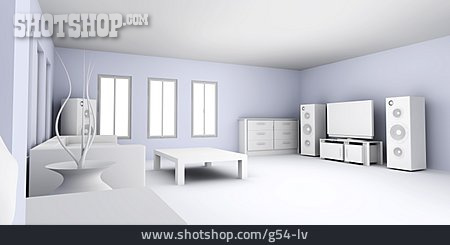 Rooms, Living Room, Living Room, Interior