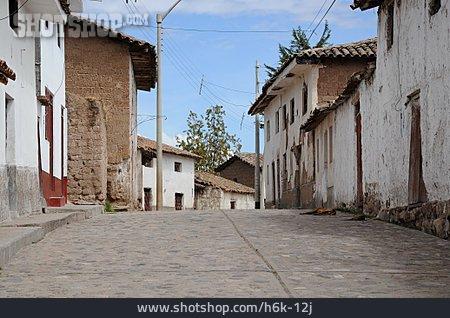 Village, Village Street, Peru
