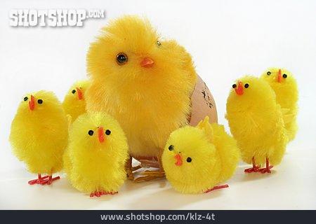 Easter, Animal Family, Easter Chicks