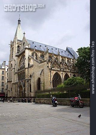 Church, St Séverin De Paris