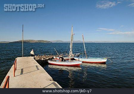 Sailboat, Lake Titicaca
