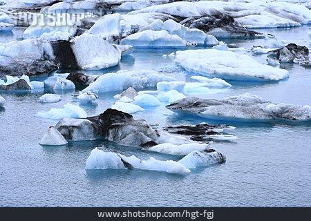 Glacial Lake, Jökulsarlón