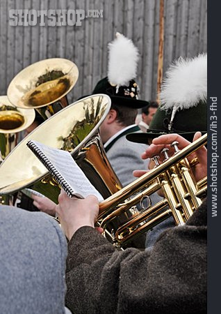 Brass Instrument, Tuba, Marching Band