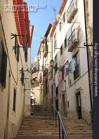 Staircase, Alley, Lisbon