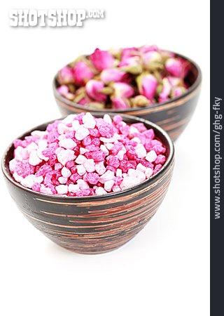 Body Care, Rose Fragrance, Bath Salt