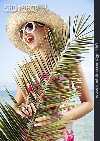 Young Woman, Holiday & Travel, Holidaymaker