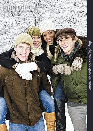 Friendship, Winterly, Winter Walk