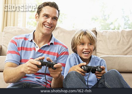 Father, Son, Video Game