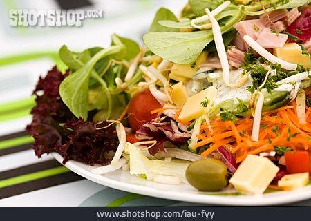 Salad, Salad Plate