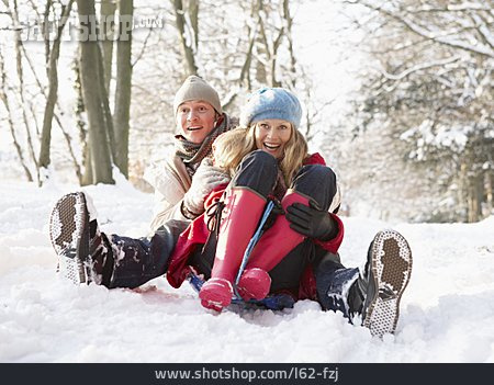 Couple, Sledding, Omitted