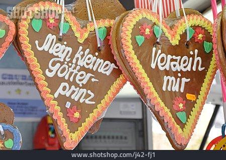 Gingerbread Heart, Gingerbread