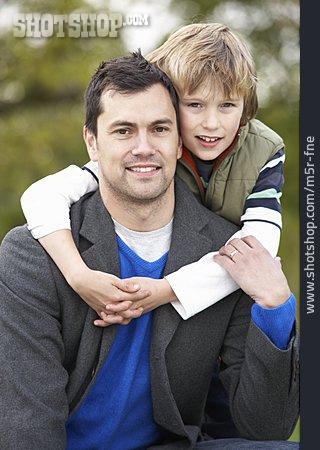 Father, Portrait, Son