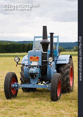 Oldtimer, Tractor, Lanz Bulldog